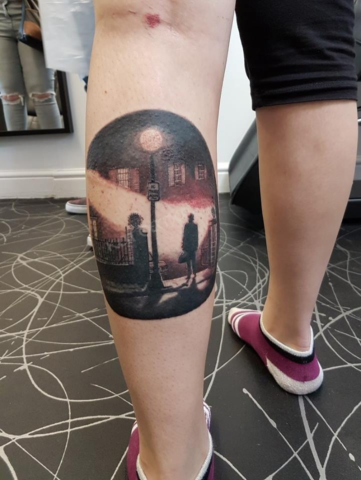 the exorcist tattoo